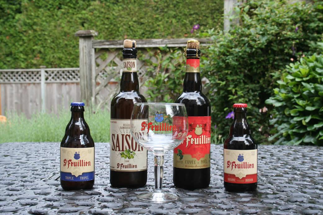 St. Feuillien Beer from Westbier